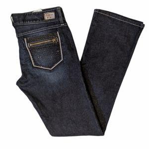 Guess women's Daredevil boot cut jeans sz 30